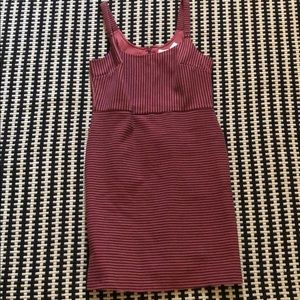 Ann Taylor LOFT Textured Stripe Tank Dress Size 6